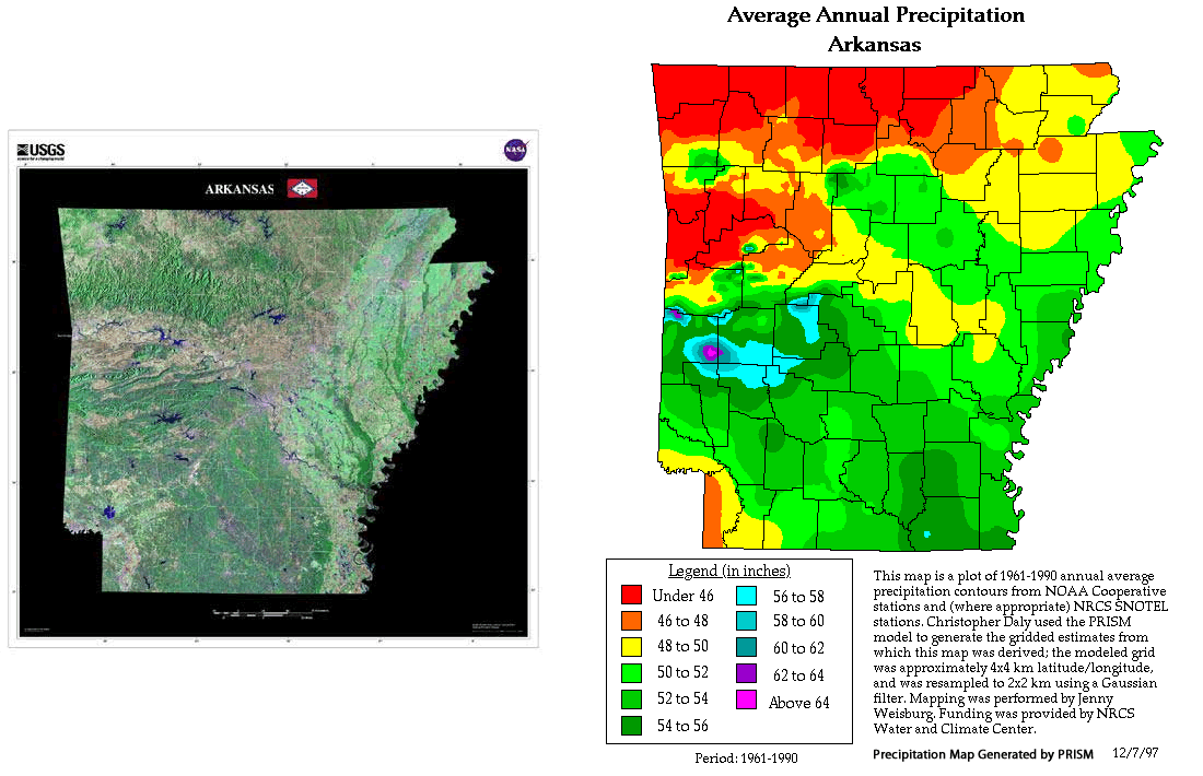 Arkansas Weather Map | compressportnederland