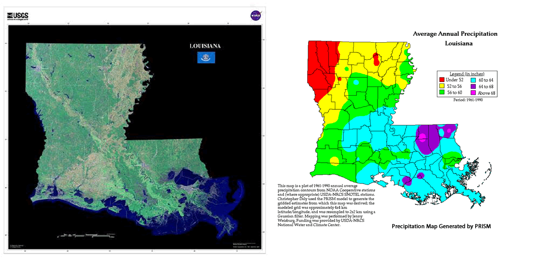 Dacula And Gwinnett County Weather Climate Summaries For Our - Annual precipitation map us